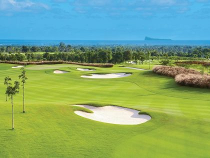 World class golf in Mauritius