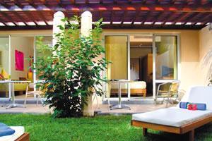 Mauricia garden facing apartment