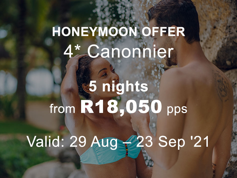 Mauritius Honeymoon Offer 4* Canonnier