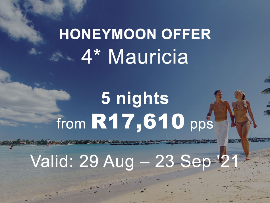 Mauritius Honeymoon Offer 4* MAURICIA