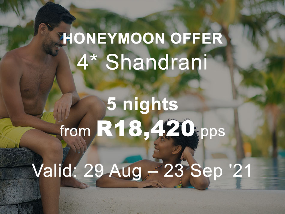 Mauritius Honeymoon Offer 4* to Shandrani - Superior Room