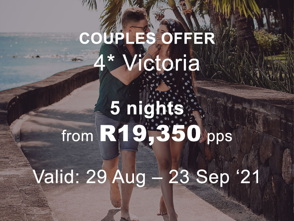 Mauritius Honeymoon Offer 4* plus Victoria