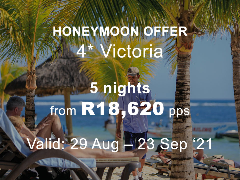 Mauritius Honeymoon Offer 4* Victoria