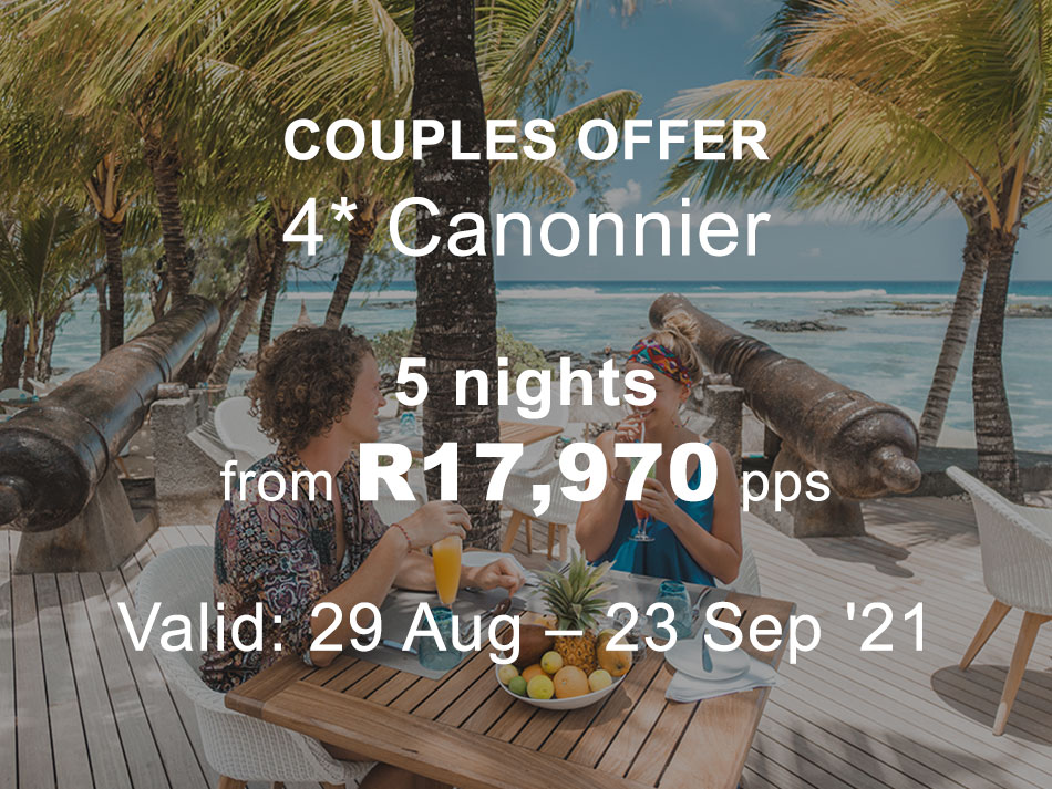Mauritius Couples and Family Offer 4* Canonnier