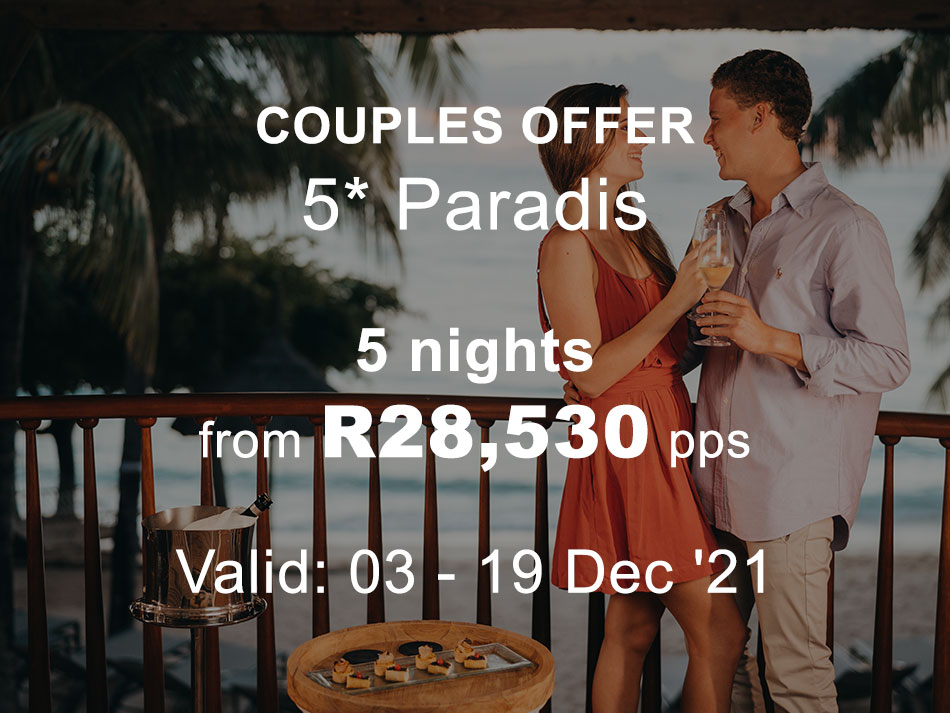 Mauritius Couples and Family Offer 5* Paradis